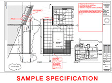 Sample installation specifications